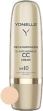 Духи, Парфюмерия, косметика СС крем против морщин SPF 10 - Yonelle Metamorphosis D3 Anti Wrinkle CC Cream SPF10