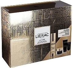 Духи, Парфюмерия, косметика Набор - Lierac Premium La Cure Anti-Age Absolute Kit (treatment/30ml+cr/15ml+mask/10ml+eye/cr/3ml)
