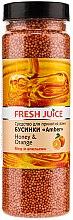 Духи, Парфюмерия, косметика Бусинки для ванны - Fresh Juice Bath Bijou Amber Honey and Orange