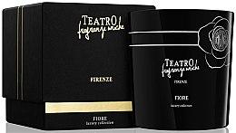Духи, Парфюмерия, косметика Ароматическая свеча - Teatro Fragranze Uniche Luxury Collection Fiore Scented Candle