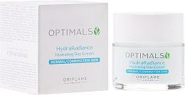 Духи, Парфюмерия, косметика Увлажняющий дневной крем для нормальной и комбинированной кожи - Oriflame Optimals Hydra Radiance Hydrating Day Cream