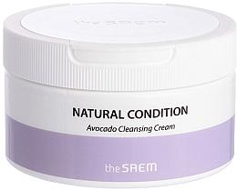 Духи, Парфюмерия, косметика Очищающий крем для лица с авокадо - The Saem Natural Condition Avocado Cleansing Cream