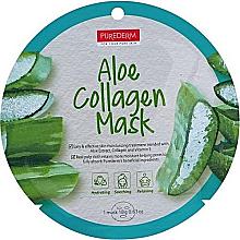 Духи, Парфюмерия, косметика Коллагеновая маска с алоэ - Purederm Aloe Collagen Mask