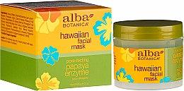 "Духи, Парфюмерия, косметика Маска для лица с энзимами ""Папайя"" - Alba Botanica Natural Hawaiian Facial Scrub Pore Purifying Pineapple Enzyme"