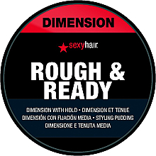 Паста для волос - SexyHair StyleSexyHair Rough & Ready — фото N2
