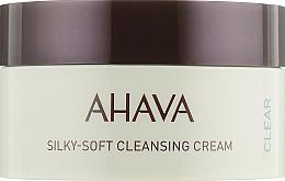 Духи, Парфюмерия, косметика Мягкий очищающий крем для лица - Ahava Time to Clear Ahava Silky Soft Cleansing Cream
