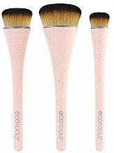 Духи, Парфюмерия, косметика Набор кисточек для макияжа, 3шт - EcoTools 360 Ultimate Blend