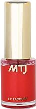 Духи, Парфюмерия, косметика Лак для губ - MTJ Cosmetics Liquid Lip Lacquer Effect 6H
