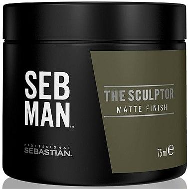Моделирующая мятная глина для волос - Sebastian Professional SEB MAN The Sculptor — фото N1