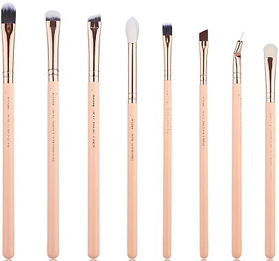 Набор кистей для макияжа, T456, 8шт - Jessup — фото N1