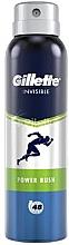 Духи, Парфюмерия, косметика Дезодорант-антиперспирант аэрозольный - Gillette Power Rush Invisible Antiperpirant Spray