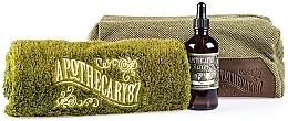 Духи, Парфюмерия, косметика Набор - Apothecary 87 Shave Kit (sh/oil/50ml + towel + bag)