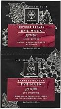 Духи, Парфюмерия, косметика Маска против морщин с виноградом для кожи вокруг глаз - Apivita Express Beauty Eye Mask Grape