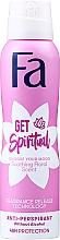 """Духи, Парфюмерия, косметика Антиперспирант-спрей """"Создай свое настроение"""" с фруктовым ароматом - Fa Get Spiritual Anti-Perspirant"""