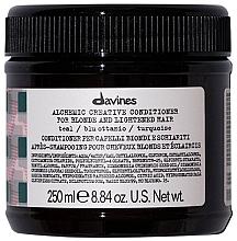 Духи, Парфюмерия, косметика Кондиционер для натуральных и окрашенных волос (бирюза) - Davines Alchemic Conditioner Teal