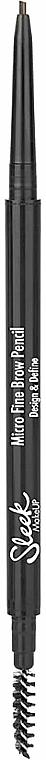 Автоматический карандаш для бровей - Sleek MakeUP Micro Fine Eyebrow Pencil — фото N1