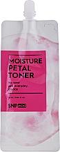 Увлажняющий тонер для лица с керамидами - SNP Mini Moisture Petal Toner (мини) — фото N1