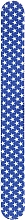 Духи, Парфюмерия, косметика Пилочка для ногтей 150/220, 7446, синий в звездах - Top Choice