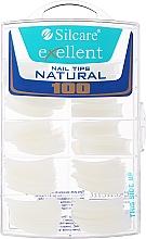 Духи, Парфюмерия, косметика Типсы для ногтей, k/k - Silcare Tipsy Exellent Natural