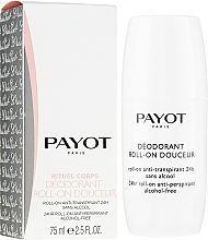 Духи, Парфюмерия, косметика Шариковый дезодорант - Payot Le Corps Deodorant Ultra Douceur Alcohol Free Roll On Deodorant