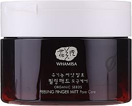 Духи, Парфюмерия, косметика Спонжи для пилинга лица - Whamisa Organic Seeds Peeling Finger Mitt Pore Care