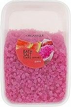 """Духи, Парфюмерия, косметика Соль для ванны, большие гранулы """"Гуава"""" - Organique Bath Salt Dead Sea"""