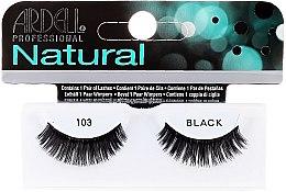 Духи, Парфюмерия, косметика Накладные ресницы - Ardell Natural Demi Black 103