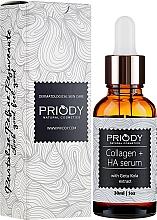 Духи, Парфюмерия, косметика Антивозрастная сыворотка для лица - Priody Anti-Aging Collagen Serum