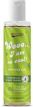 Духи, Парфюмерия, косметика Гель для душа - Wooden Spoon I Am So Cool Shower Gel