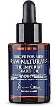 Духи, Парфюмерия, косметика Масло для бороды - Recipe For Men RAW Naturals The Imperial Beard Oil