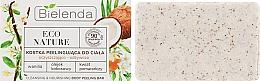 """Духи, Парфюмерия, косметика Мыло-скраб для тела """"Кокос"""" - Bielenda Eco Nature Body Peeling Bar Vanilla Coconut Milk Orange"""