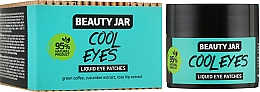 "Духи, Парфюмерия, косметика Патчи под глаза ""Cool Eyes"" - Beauty Jar Liquid Eye Patches"