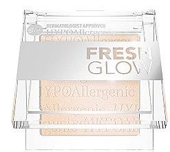 Духи, Парфюмерия, косметика Хайлайтер для лица и тела - Bell HYPOAllergenic Fresh Glow Illuminating Powder