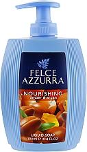 Духи, Парфюмерия, косметика Жидкое мыло - Felce Azzurra Nutriente Amber & Argan