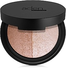 Духи, Парфюмерия, косметика Палетка для лица - Aden Cosmetics Highlighter & Bronzer Duo