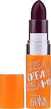 Духи, Парфюмерия, косметика Кремовая помада для губ - Avon Color Trend Cream Lipstick SPF 15