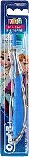 Духи, Парфюмерия, косметика Зубная щетка Kids 3-5, мягкая, Frozen Olaf, сине-серая - Oral-B Kids
