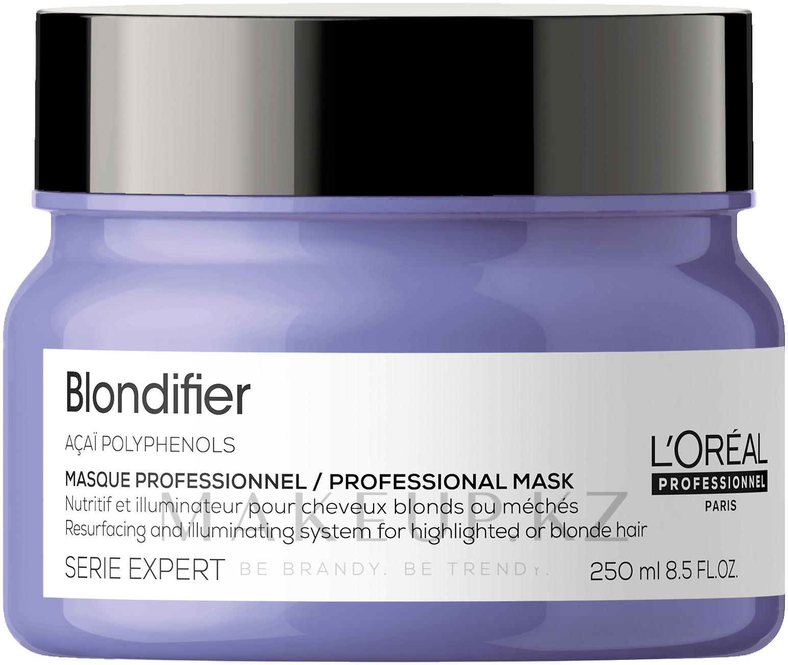 Маска-сияние для волос, восстанавливающая - L'Oreal Professionnel Serie Expert Blondifier Masque — фото 250 ml NEW