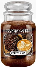 Духи, Парфюмерия, косметика Ароматическая свеча в банке - Country Candle Coffee Shop