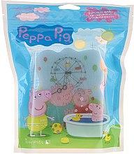 "Духи, Парфюмерия, косметика Губка для ванной ""Свинка Пеппа"", парк голубая - Suavipiel Peppa Pig Bath Sponge"