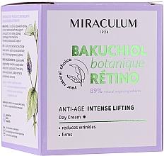 Духи, Парфюмерия, косметика Дневной крем для лица - Miraculum Bakuchiol Botanique Retino Anti-Age Intensive Lifting