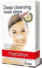 Духи, Парфюмерия, косметика Очищающие полоски для носа - Purederm Deep Cleansing Nose Pore Strips