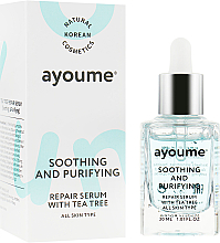 Духи, Парфюмерия, косметика Сыворотка для лица успокаивающая - Ayoume Tea Tree Soothing & Purifying Serum
