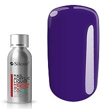Духи, Парфюмерия, косметика Акрил для ногтей - Silcare Nail Acrylic Liquid Medium Action Color