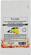 """Духи, Парфюмерия, косметика Гималайская соль """"Ваниль и Лимон"""" - E-fiore Himalayan Salt With Oils Sensual Vanilla With Lemon"""