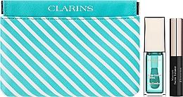 Духи, Парфюмерия, косметика Набор - Clarins Candy Box Mint (lip/oil/mint/7ml + mascara/3,5ml + pounch)