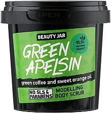 Духи, Парфюмерия, косметика Скраб для тела моделирующий Green Apelsin - Beauty Jar Modelling Body Scrub