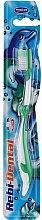 Духи, Парфюмерия, косметика Детская зубная щетка Rebi-Dental M16, мягкая, зеленая - Mattes