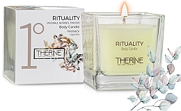 Духи, Парфюмерия, косметика Свеча для массажа - Therine Rituality Body Candle
