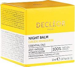 Духи, Парфюмерия, косметика Разглаживающий ночной бальзам для лица - Decleor Green Mandarin Glow Night Balm